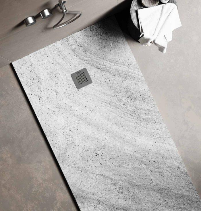 Granite - marbled greys, space